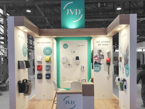Hygienalia show Madrid Stand JVD